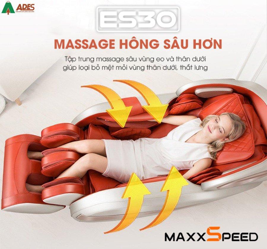 Hinh anh doc dao Ghe Massage Azaki Maxxspeed ES30